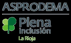 Logotipo de Asprodema La rioja
